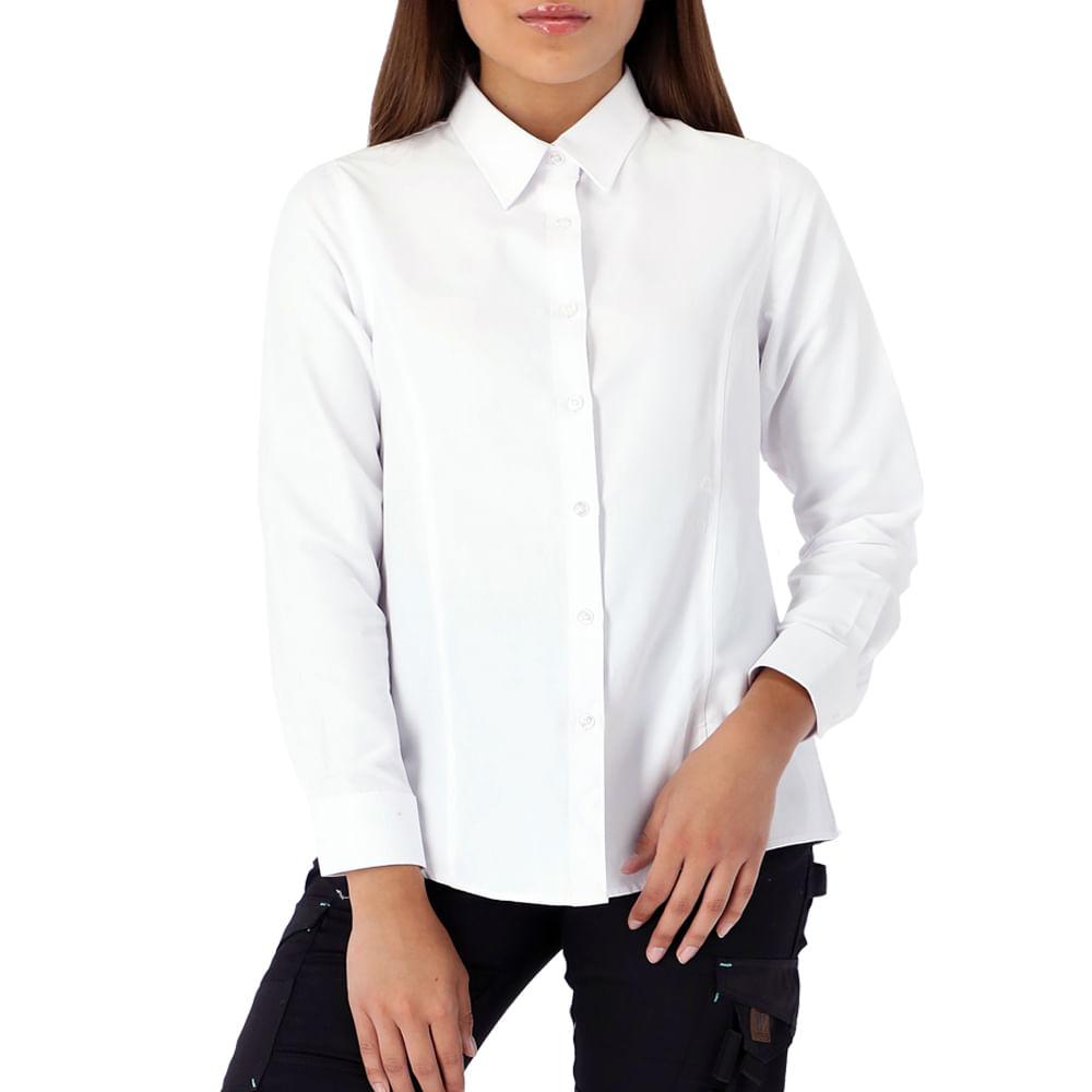 Camisa Quebec Vancouver Mujer Blanca - vicsa